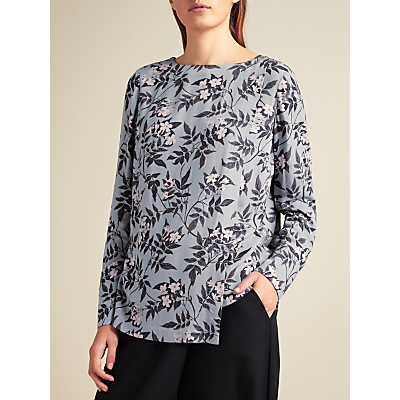 Modern Rarity Archive Print Double Layer Top, Multi