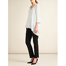 Buy Modern Rarity Side Split Shirt, Ivory Online at johnlewis.com