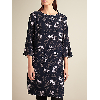 Modern Rarity Archive Print A-Line Tuck Dress, Multi