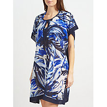 Buy John Lewis Parrot Tulip Print Kaftan, Blue/Multi Online at johnlewis.com