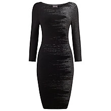 Buy Phase Eight Bridget Brushstroke Dress, Black Online at johnlewis.com