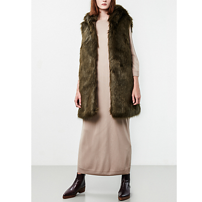 Parka London Phoebe Faux Fur Gilet