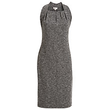 Buy Max Studio Sleeveless Tweed Ponte Dress, Grey Online at johnlewis.com