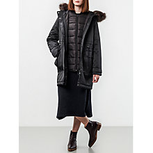 Buy Parka London Kay 3-in-1 Parka with Quilted Jacket, Black Online at johnlewis.com