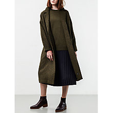 Buy Parka London Rosie Check Duster Coat, Green/Navy Online at johnlewis.com