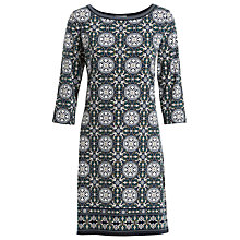 Buy Max Studio Printed Jersey Dress, Navy Online at johnlewis.com