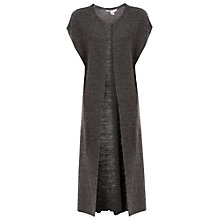 Buy Max Studio Longline Cardigan, Heather Charcoal Online at johnlewis.com