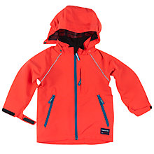 Buy Polarn O. Pyret Children's Shell Coat, Red Online at johnlewis.com