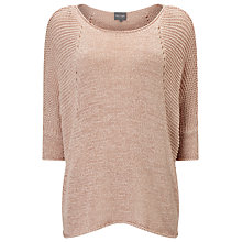 Buy Phase Eight Aideen Tape Yarn Jumper, Soft Pink Online at johnlewis.com