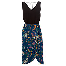 Buy Oasis V&A 2 in 1 Dress, Turquoise Online at johnlewis.com
