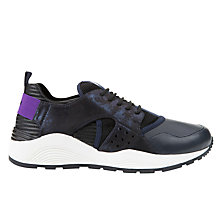Buy Geox Omaya Plus Trainers, Navy/Black Online at johnlewis.com