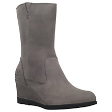 Buy UGG Joely Platform Ankle Boots, Grey Online at johnlewis.com