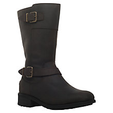 Buy UGG Tisdale Knee High Boots, Dark Brown Online at johnlewis.com