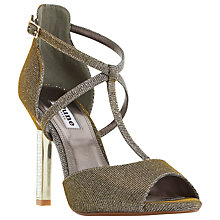 Buy Dune Melodee Jewelled Heel Peep Toe Sandals Online at johnlewis.com