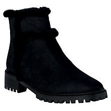 Buy L.K.Bennett Thomasine Ankle Boots, Black Online at johnlewis.com