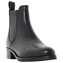 Buy Dune Peppys Ankle Boots, Black Online at johnlewis.com