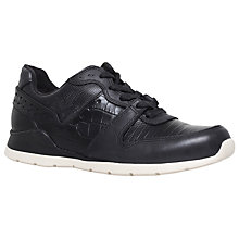 Buy UGG Deaven Trainers, Black Croc Online at johnlewis.com