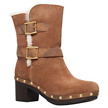 Buy UGG Brea Block Heeled Ankle Boots Online at johnlewis.com