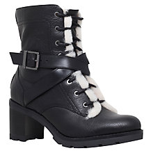 Buy UGG Ingrid Lace Up Ankle Boots, Black Online at johnlewis.com