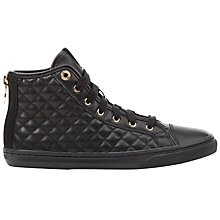Buy Geox New Club Quilted High Top Trainers Online at johnlewis.com