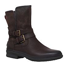 Buy UGG Simmens Biker Ankle Boots Online at johnlewis.com