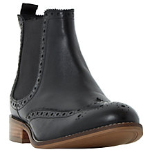 Buy Dune Wide Fit Quent Ankle Boots, Black Online at johnlewis.com