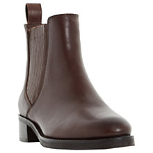 Buy Dune Peppys Ankle Boots, Brown Online at johnlewis.com