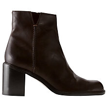 Buy Jigsaw Dress Block Heeled Ankle Boots Online at johnlewis.com