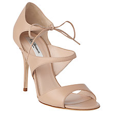 Buy L.K. Bennett Karlie Formal Sandals, Natural Online at johnlewis.com