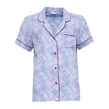 Buy Cyberjammies Elsie Spot Print Short Sleeve Pyjama Top, Blue/Purple Online at johnlewis.com