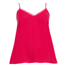 Buy Cyberjammies Heidi Modal Camisole, Red Online at johnlewis.com