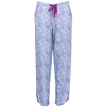 Buy Cyberjammies Elsie Spot Print Pyjama Bottoms, Blue/Purple Online at johnlewis.com