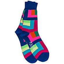 Buy Thomas Pink Holt Colour Block Socks Online at johnlewis.com