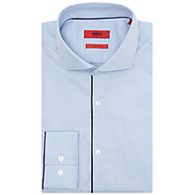 Buy HUGO by Hugo Boss C-Jimmy Slim Fit Shirt, Light Blue Online at johnlewis.com
