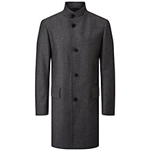 Buy HUGO by Hugo Boss C-Sintrax Striped Overcoat Online at johnlewis.com