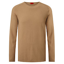 Buy HUGO by Hugo Boss San Francisco Cotton Silk Cashmere Jumper Online at johnlewis.com