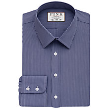 Buy Thomas Pink Appleby Check Super Slim Fit Shirt, Navy/White Online at johnlewis.com