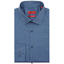Buy HUGO by Hugo Boss CJenno Slim Shirt, Navy Online at johnlewis.com