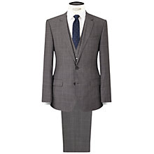 Buy HUGO by Hugo Boss C-Huge/Genius Virgin Wool Three Piece Suit, Medium Grey Online at johnlewis.com