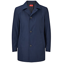 Buy HUGO by Hugo Boss C-Dias Water Repellent Coat, Dark Blue Online at johnlewis.com