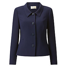 Buy Precis Petite Aria Tailored Jacket, Navy Online at johnlewis.com