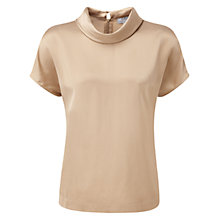 Buy Pure Collection Gracie Top, Champagne Beige Online at johnlewis.com