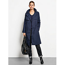 Buy hush Tess Trench Coat, Midnight Online at johnlewis.com