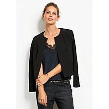 Buy hush Edie Jacket, Black Online at johnlewis.com