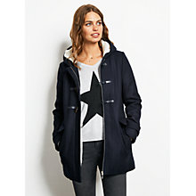 Buy hush Duffle Coat, Midnight Online at johnlewis.com