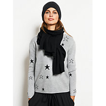 Buy hush Twilight Jumper, Grey Marl/Black Online at johnlewis.com