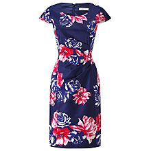 Buy Precis Petite Rosa Print Shift Dress, Blue/Multi Online at johnlewis.com
