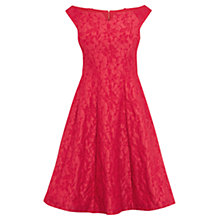 Buy Coast Petite Kimberley Dress, Raspberry Online at johnlewis.com