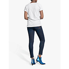 Buy hush Cotton Slub V-Neck T-Shirt Online at johnlewis.com