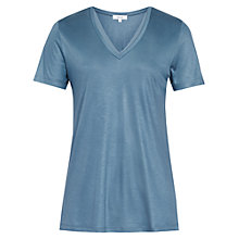 Buy Reiss Leo Core T-Shirt With Trim Online at johnlewis.com